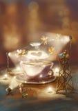 Tworzy kawę ilustracji