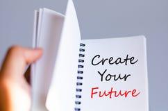 Tworzy twój przyszłościowego pojęcie Fotografia Stock