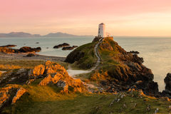Twr Mawr Lighthouse on Anglesey Wales Stock Photography