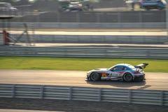 TWS LM corsa BMW LM corsa Z4在GT300的在Burirum, Thail赛跑 免版税库存图片