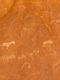 Twyfelfontein Zdjęcia Stock