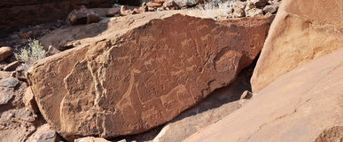 Twyfelfontein Royalty Free Stock Images