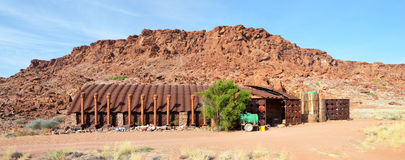 Twyfelfontein. A site of ancient rock engravings in the Kunene Region Royalty Free Stock Photos