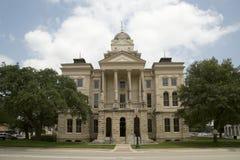 TX的贝尔县法院大楼 免版税库存图片