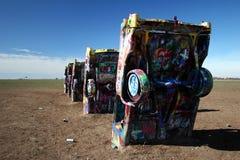 tx ранчо amarillo cadillac Стоковые Изображения