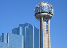 Tx. Building in dallas Texas united states of america Stock Image