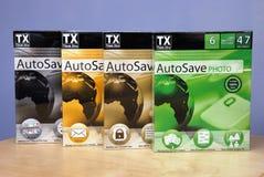 TX Autosave Fotografia de Stock Royalty Free