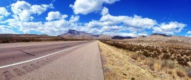TX del oeste Guadalupe Mountains National Park Fotografía de archivo libre de regalías