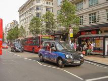 TX4 Hackney Carriage, also called London Taxi Royalty Free Stock Image
