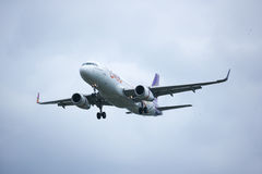 TXO Airbus A320-200 da via aérea de Thaismile Imagens de Stock Royalty Free