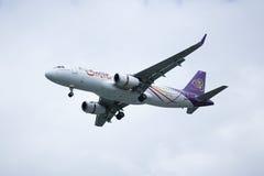 TXO Airbus A320-200 da via aérea de Thaismile Imagem de Stock