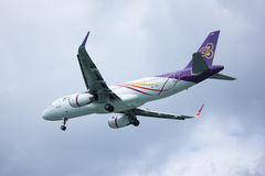 TXO Airbus A320-200 da via aérea de Thaismile Imagem de Stock Royalty Free