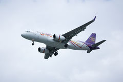TXO Airbus A320-200 of Thaismile airway. Stock Image