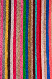 Txture of Striped beach towel Royalty Free Stock Image