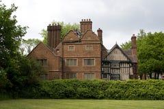Tyły dębu dom Zachodni Bromwich Anglia fotografia stock