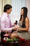 Ty mój żoną będziesz? Obrazy Royalty Free