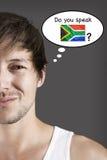 Ty mówisz afrykanina? Zdjęcia Royalty Free