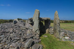 Free Ty Mawr Ancient Hut Circle On Holyhead, Anglesey Royalty Free Stock Photos - 49381978
