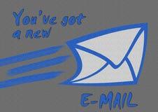 Nowy email Zdjęcie Stock