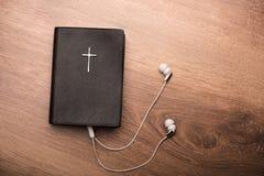 Ty możesz słuchać twój ulubeni psalmy zdjęcie stock