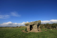 Ty-Newydd. A Neolithic Ancient Monument of Angelsey North Wales Royalty Free Stock Photos