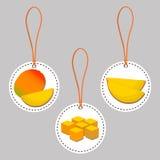 żółty owocowy mango Obraz Royalty Free