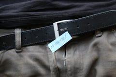 Ty plus ja tekst, płci pojęcia etykietka z inskrypcją zdjęcie stock
