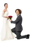 Ty poślubiasz ja? Zdjęcie Royalty Free