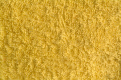 Żółty tkaniny Zdjęcia Stock