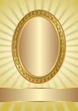 Żółty tło Zdjęcia Royalty Free