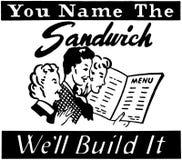 Ty Wymieniasz kanapkę Zdjęcie Royalty Free