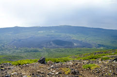 Tyatya volcano Royalty Free Stock Photography