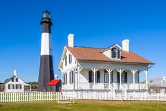 Tybe Island Light House Royalty Free Stock Photo