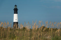 Tybee海岛灯塔 免版税图库摄影