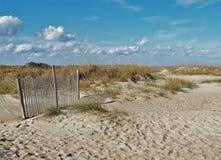 Tybee Island Dune imagenes de archivo