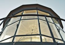 Tybee Island Lighthouse Royaltyfri Fotografi
