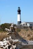 Tybee Island Lighthouse. Historic Tybee Island Lighthouse near Savannah Georgia royalty free stock photos