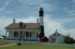 Tybee Island Lighthouse. Savannah, Georgia stock images