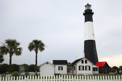 Tybee Island Lighthouse Lizenzfreie Stockbilder