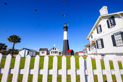 Tybee Island Lighthouse Imagem de Stock
