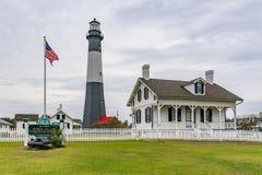 Tybee Island Lighthouse lizenzfreies stockbild
