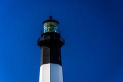 Tybee Island Lighthouse, at Tybee Island, Georgia. Stock Image