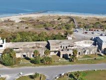 Tybee Island Lighthouse View foto de archivo libre de regalías