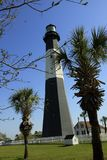Tybee Lighthouse se coloca orgulloso durante 270 años fotos de archivo libres de regalías