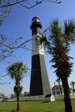 Tybee Lighthouse står proudly för 270 år royaltyfria foton