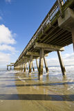 Tybee Pier 1 Lizenzfreies Stockbild