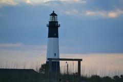 Tybee wyspy latarnia morska fotografia stock