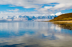 Tybet Jeziorny Mansarovar Obrazy Stock