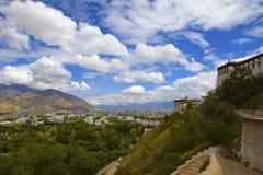 Tybet Lhasa obraz royalty free