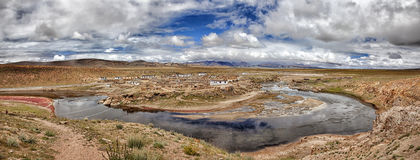 Tybet sceneria Fotografia Royalty Free